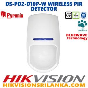 DS-PD2-D10P-W-wireless-PIR-Detector-pir+micro