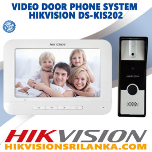 hikvision-video-door-phone-srilanka-ds-kis202 BEST PRICE SRI LANKA